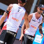 Clemens Doppler und Alex Horst beim Swatch Beach Major in Gstaad 20017 © FIVB