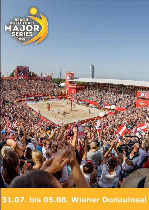 Beach Volleyball Major Series - FOTO © Sport Acts Steinthaler