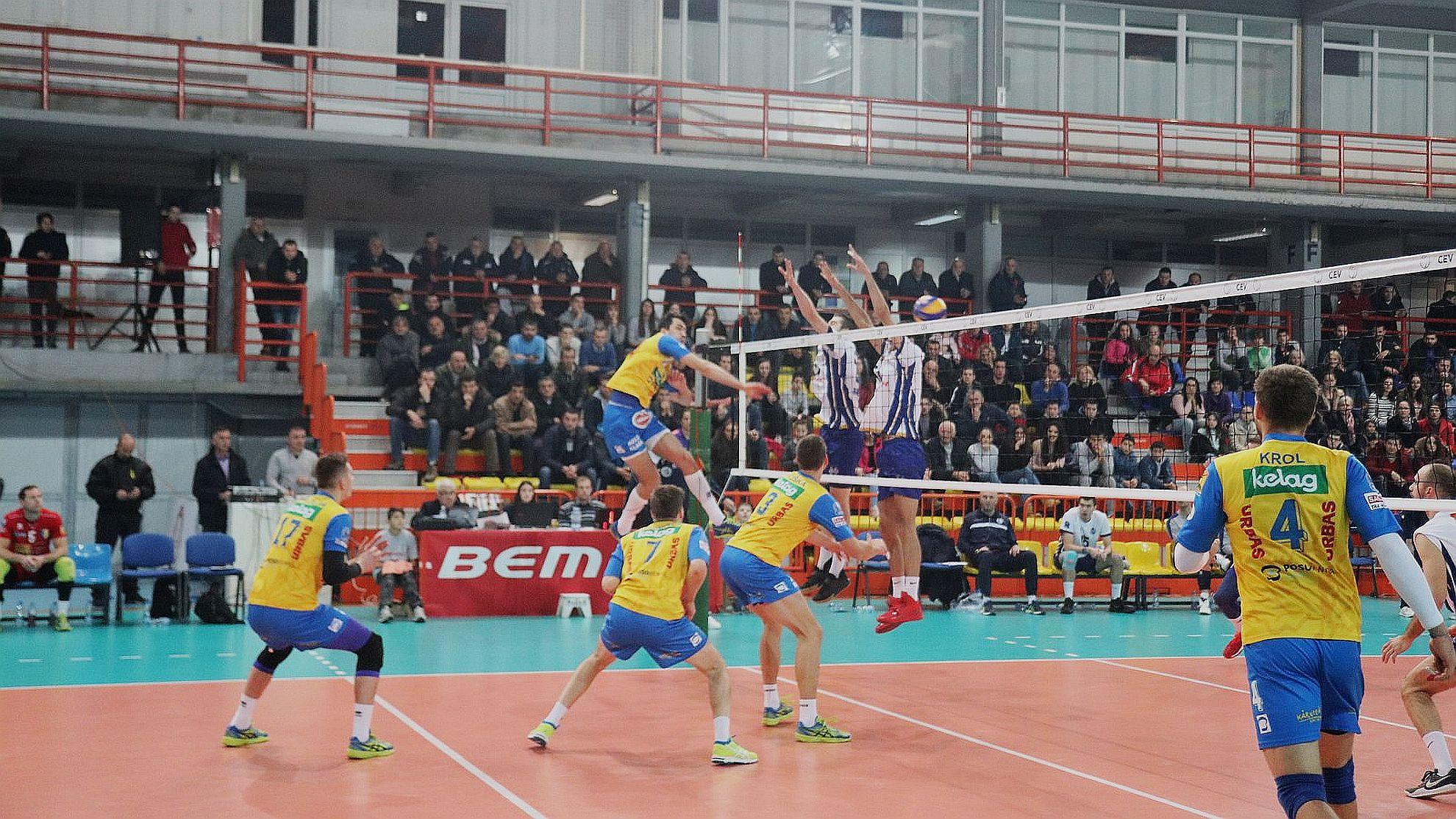 CEV Cup: Jedinstvo Bemax Bijelo Polje (MNE) - SK Posojilnica Aich/Dob (AUT) – FOTO © CEV