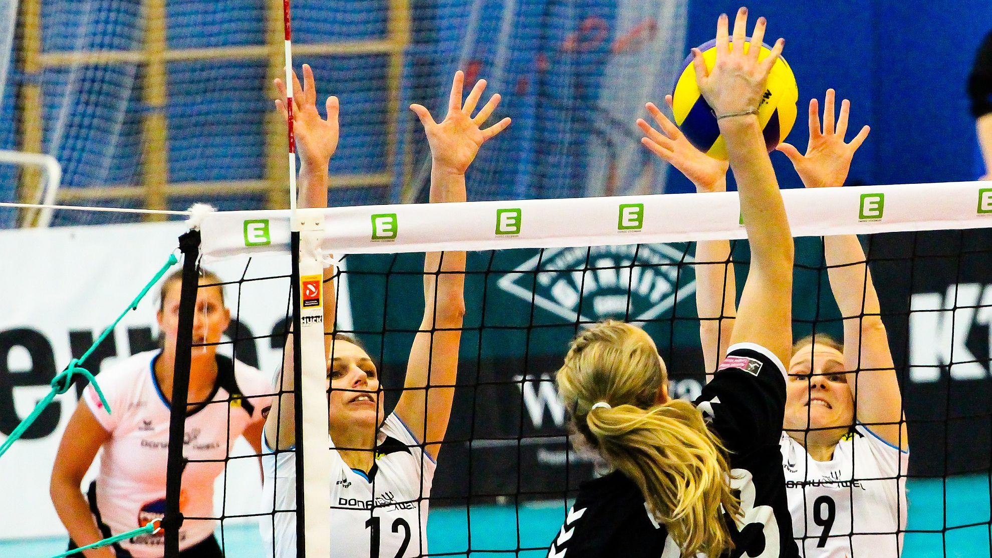 SG Prinz Brunnenbau Volleys - SG VB NÖ Sokol/Post - FOTO © Peter Maurer/SportPR