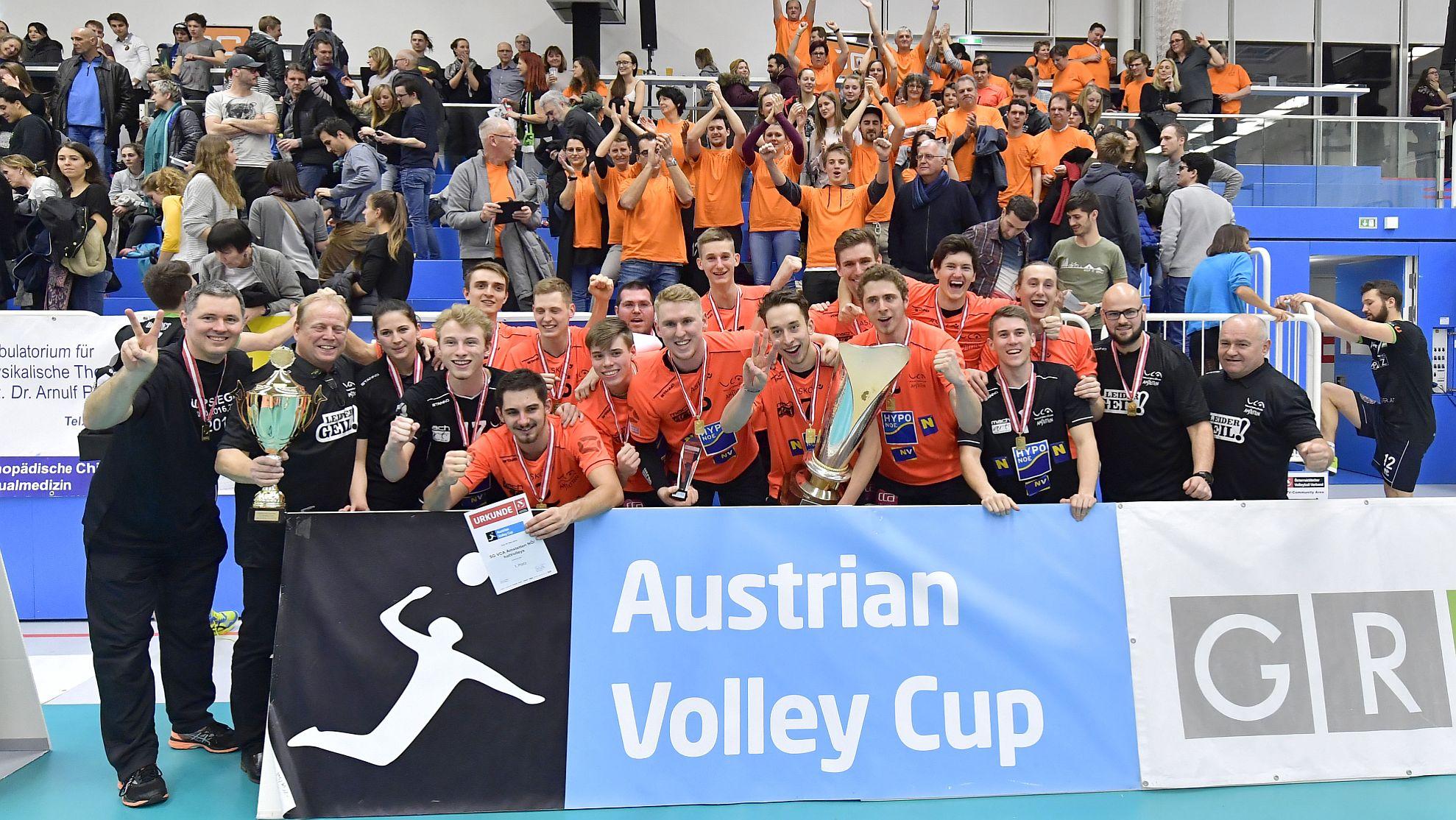 UVC Holding Graz vs SG VCA Amstetten NÖ/hotVolleys 2018 - FOTO © ÖVV/Leo Hagen
