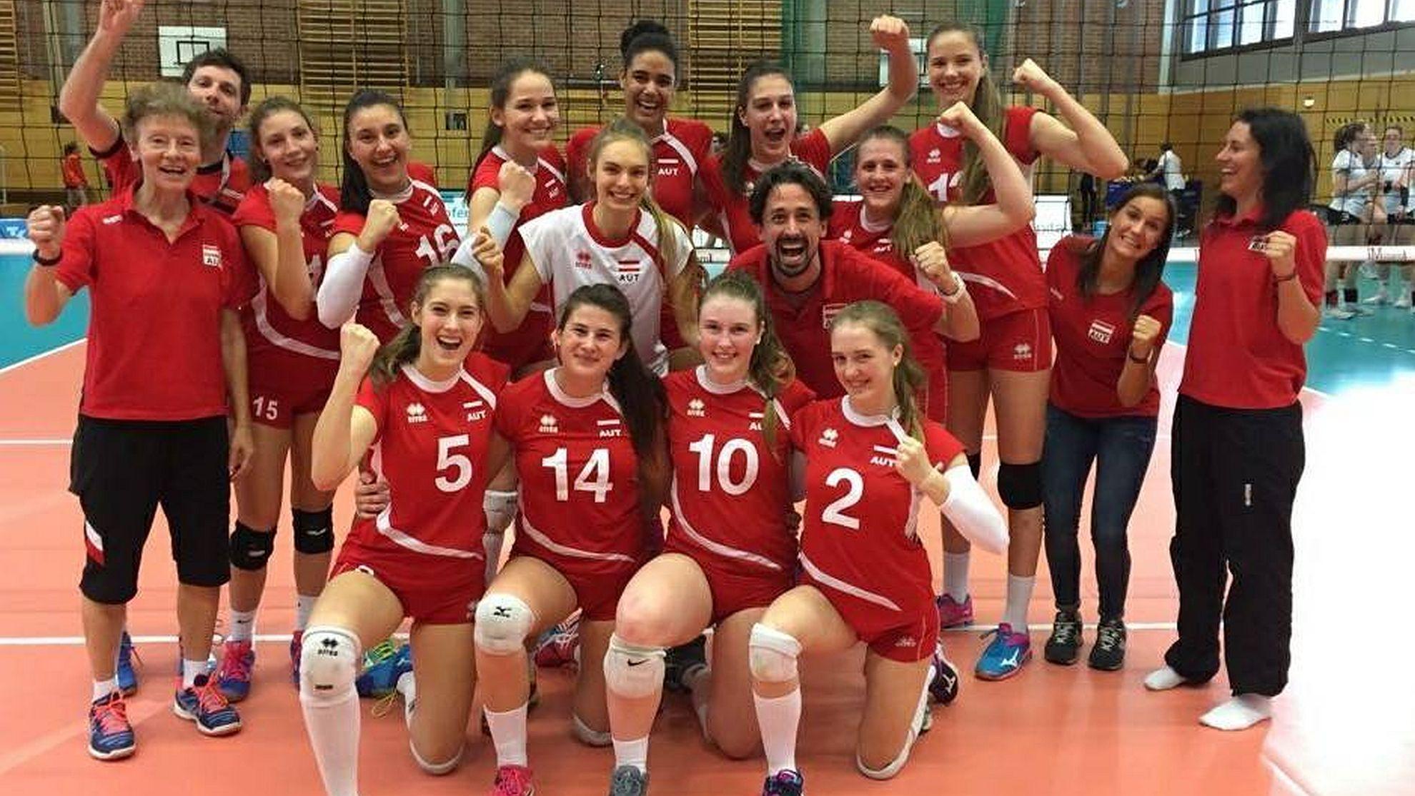 ÖVV-Juniorinnen - FOTO © ÖVV