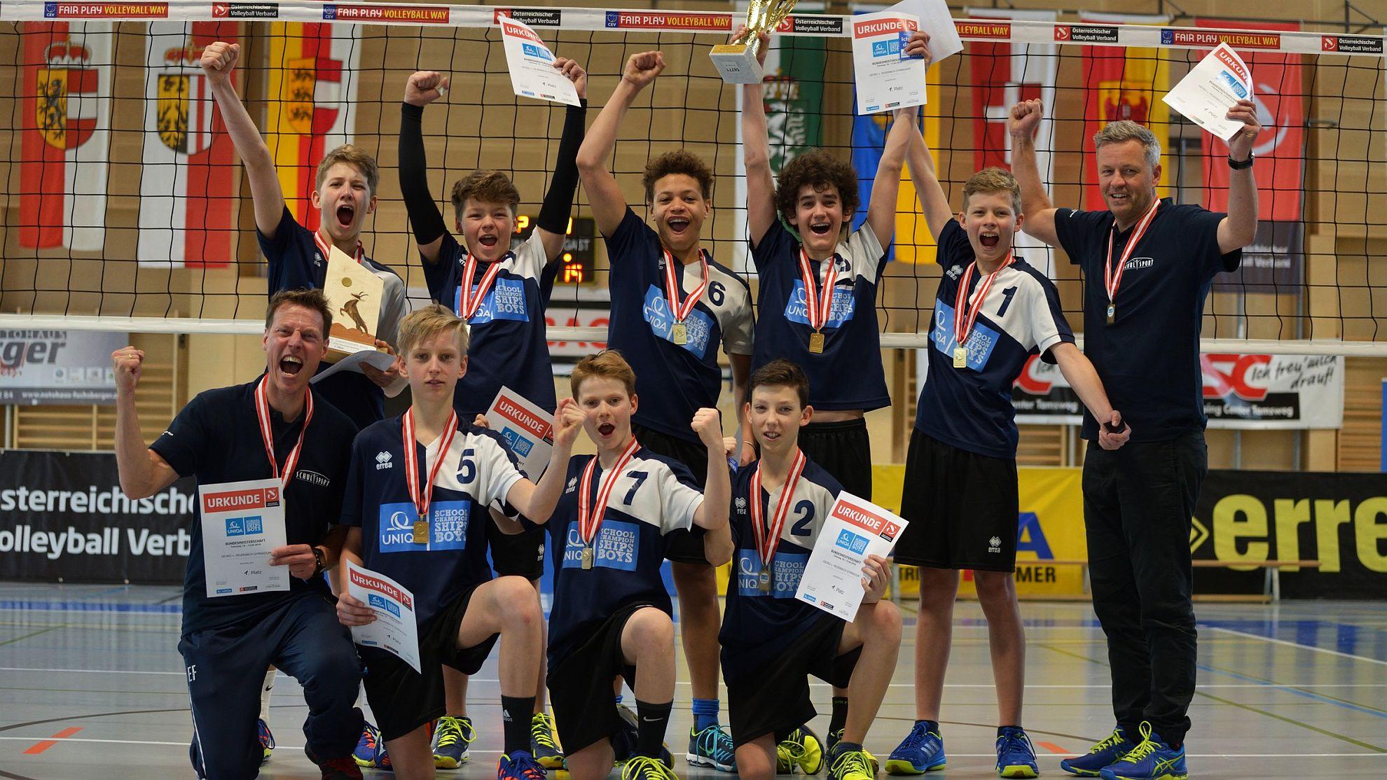 UNIQA School Championships Boys 2018 - FOTO © SVV/Strauß