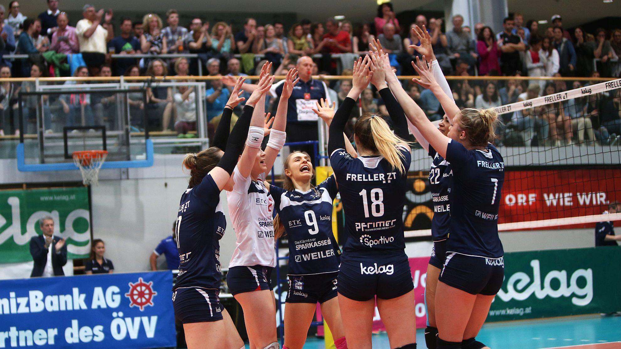 SG Kelag Klagenfurt gegen UVC Holding Graz 2018 - FOTO © QSpictures/Kuess