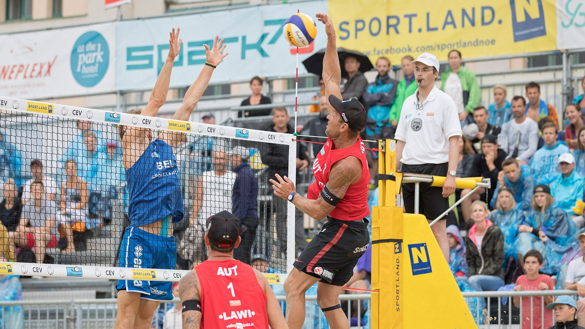 Beachvolleyball Baden 2017 - FOTO © Rainer Mirau