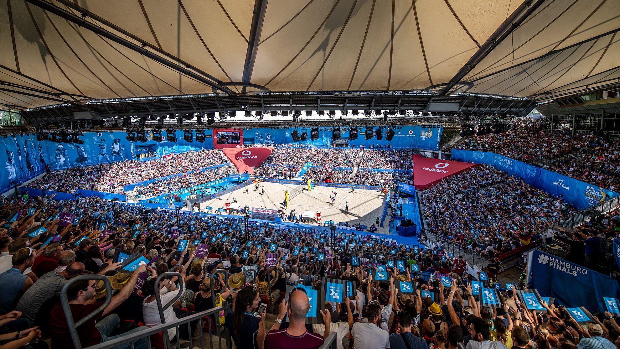 Beach Volleyball FIVB World Tour Finals Hamburg 2018 © Beach Majors/Stetcu