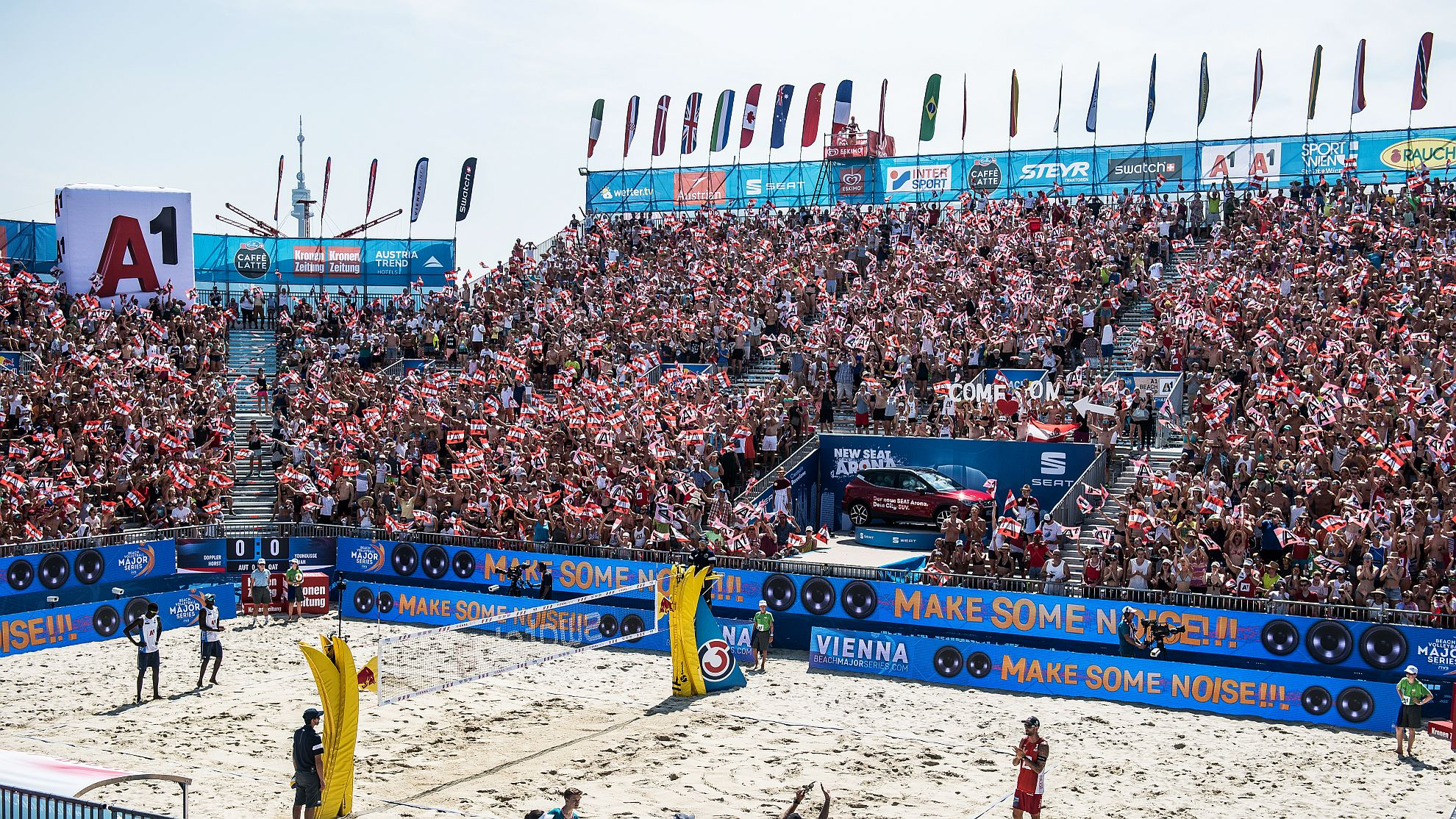 FOTO © Jörg Mitter/Beach Volleyball Major Series/Red Bull Content Pool