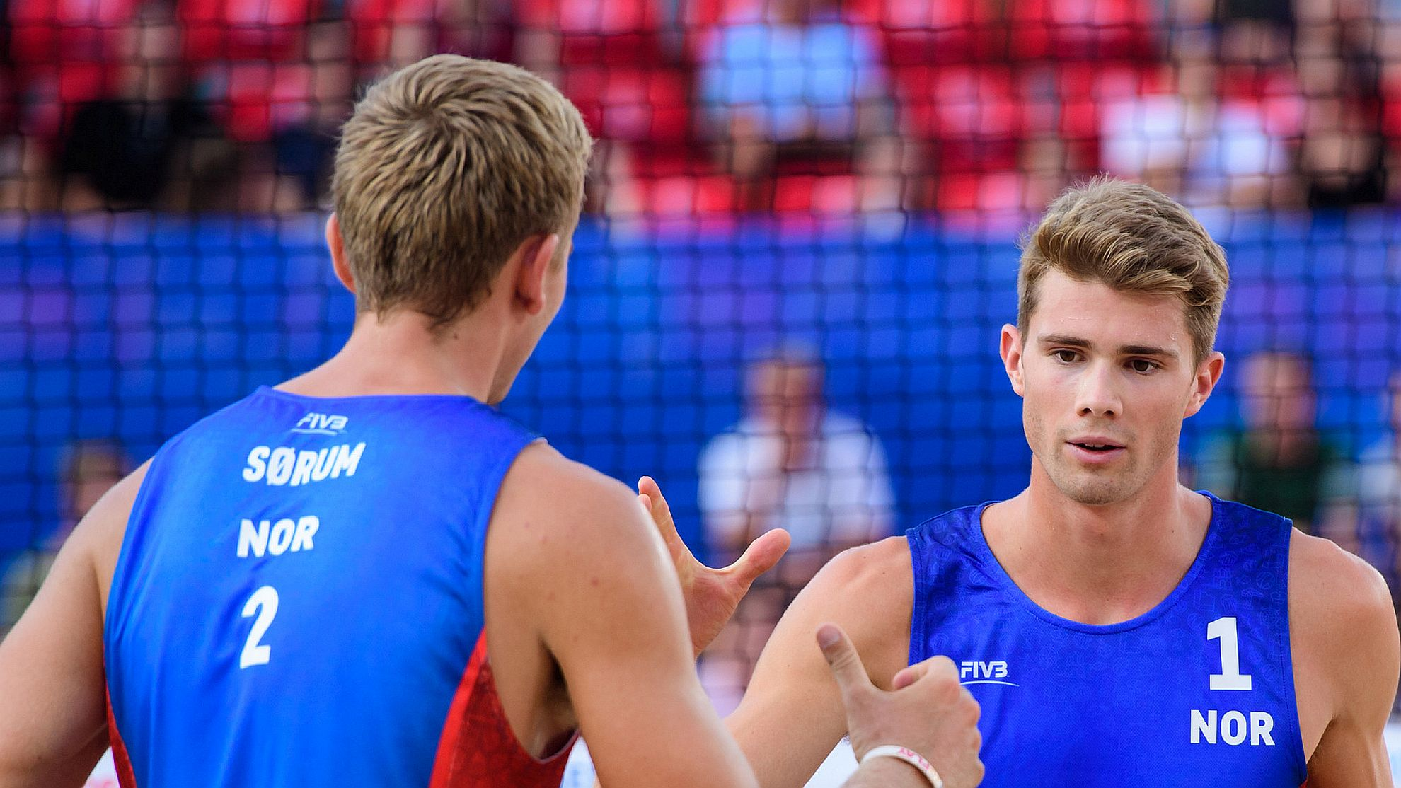 Anders Mol/Christian Sørum 2018 - FOTO © FIVB