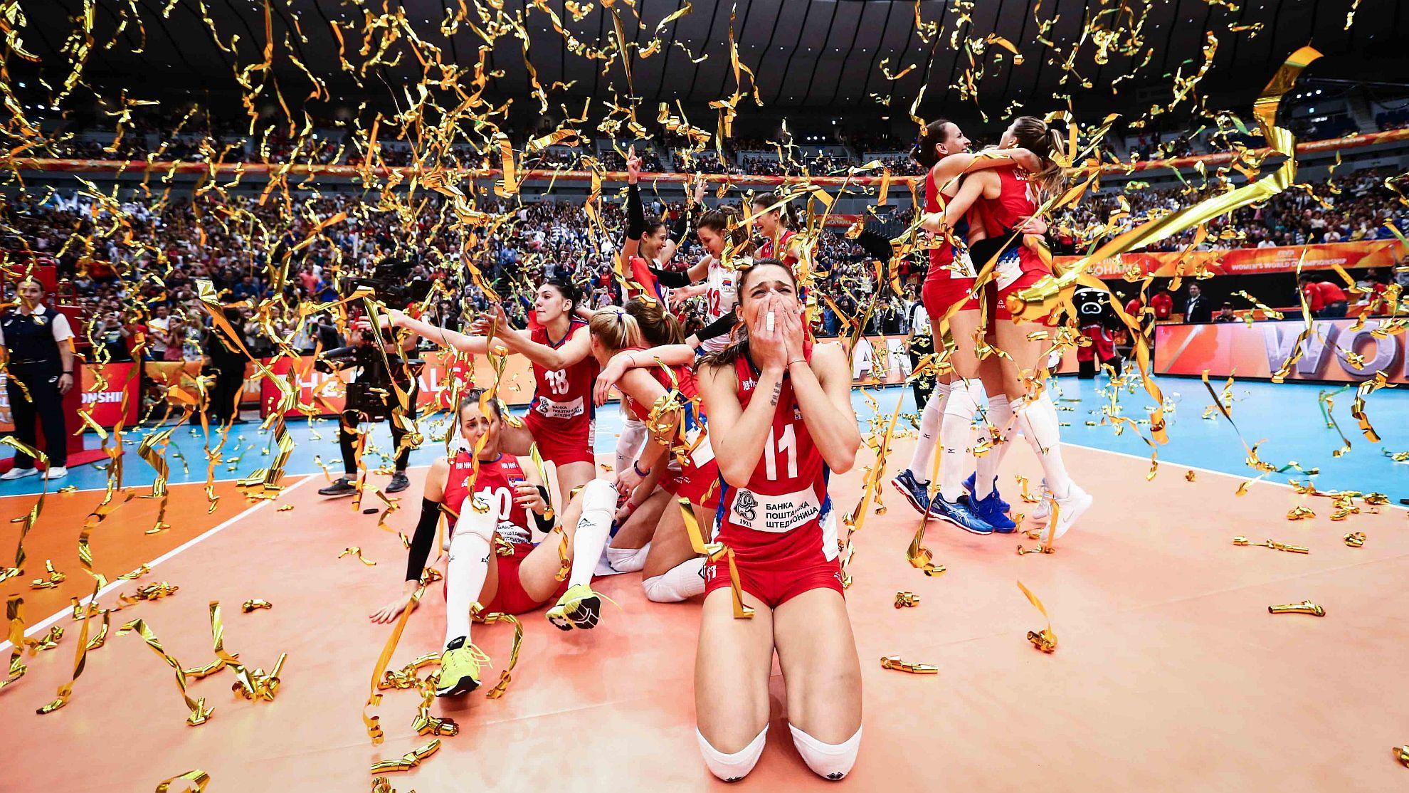 Serbien 2018 - FOTO © FIVB
