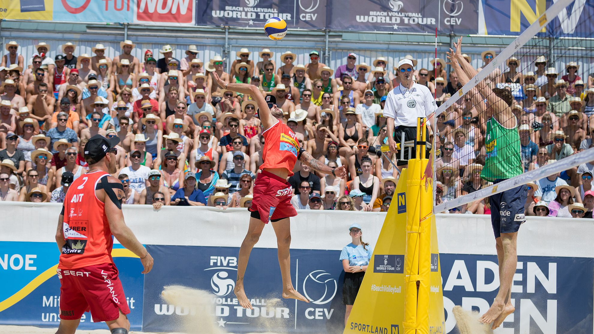 FIVB World Tour Baden Open 2018 - FOTO © Rainer Mirau