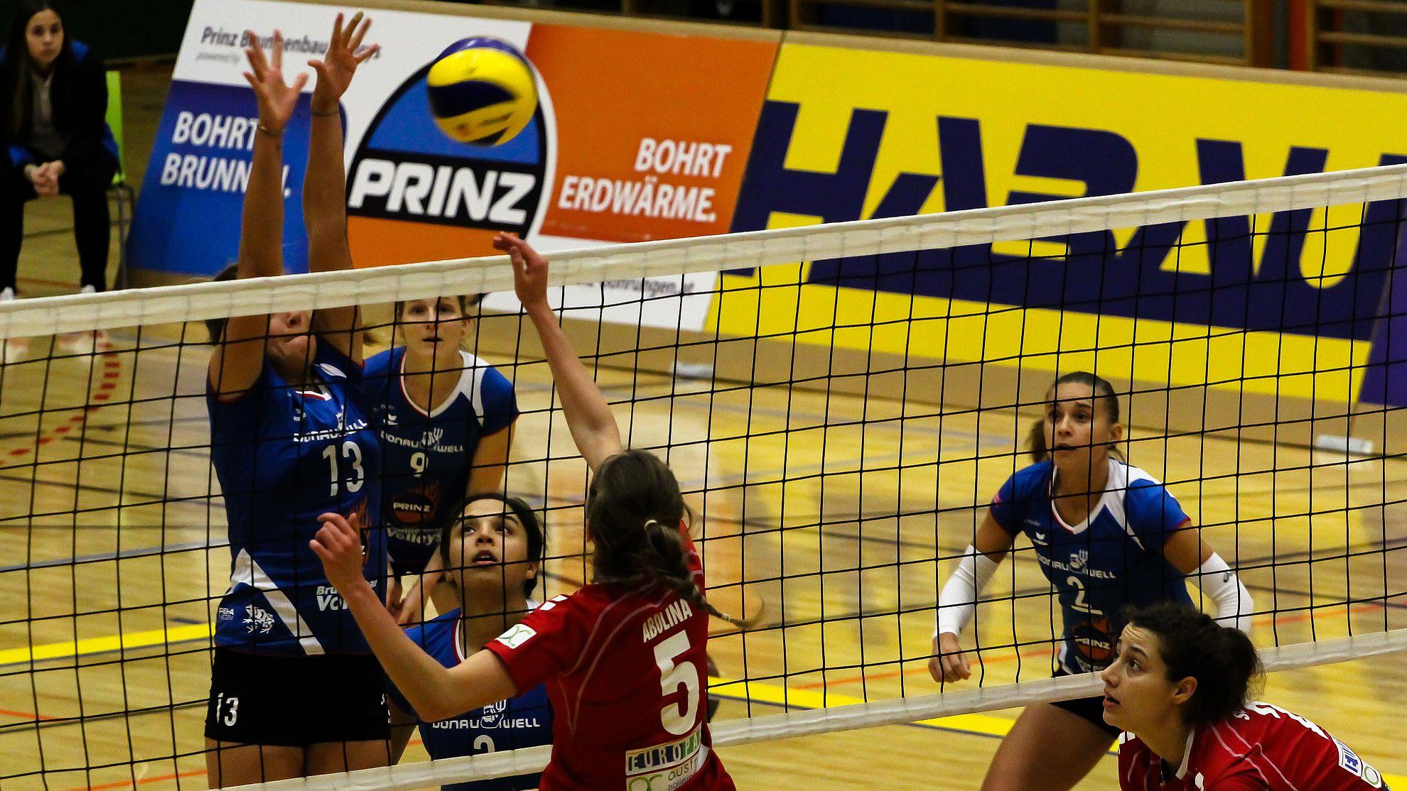 SG Prinz Brunnenbau Volleys 2018/19 - FOTO © Peter Maurer