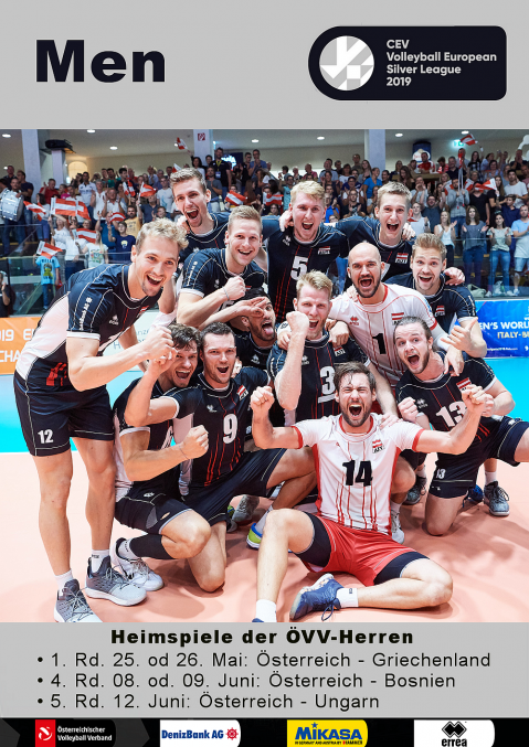 CEV European Silver League - FOTO © ÖVV/Leo Hagen
