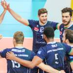VOLLEYBALL, CEV Volleyball Cup, HYPO TIROL AlpenVolleys Haching vs. BARKOM-KAZHANY LVIV