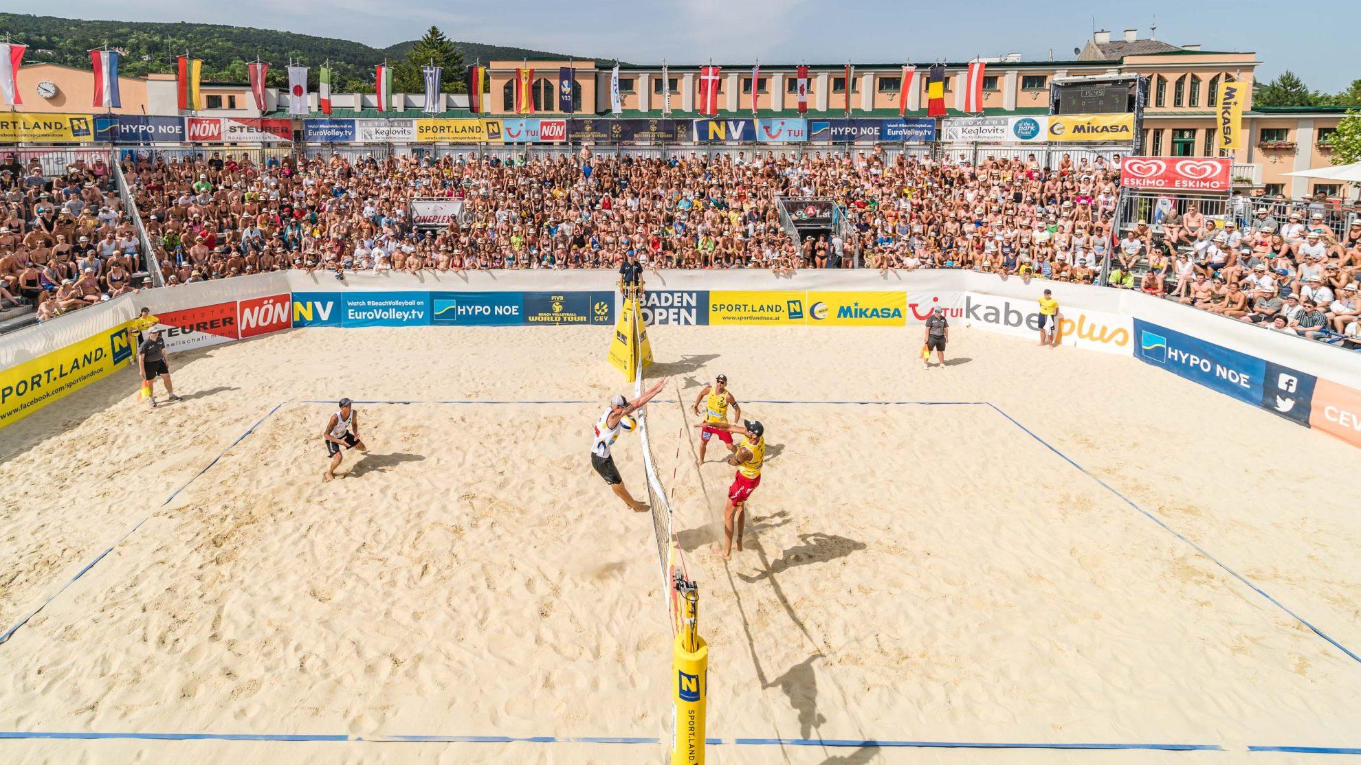 FIVB World Tour Baden Open 2019 - FOTO © Florian Schrötter