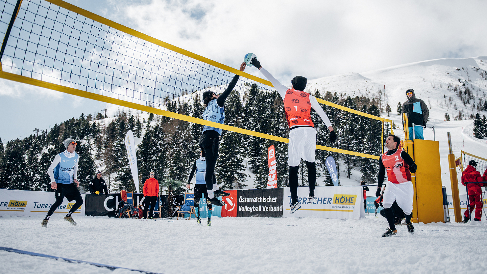 FOTO © Austrian Snow Volleyball Championships
