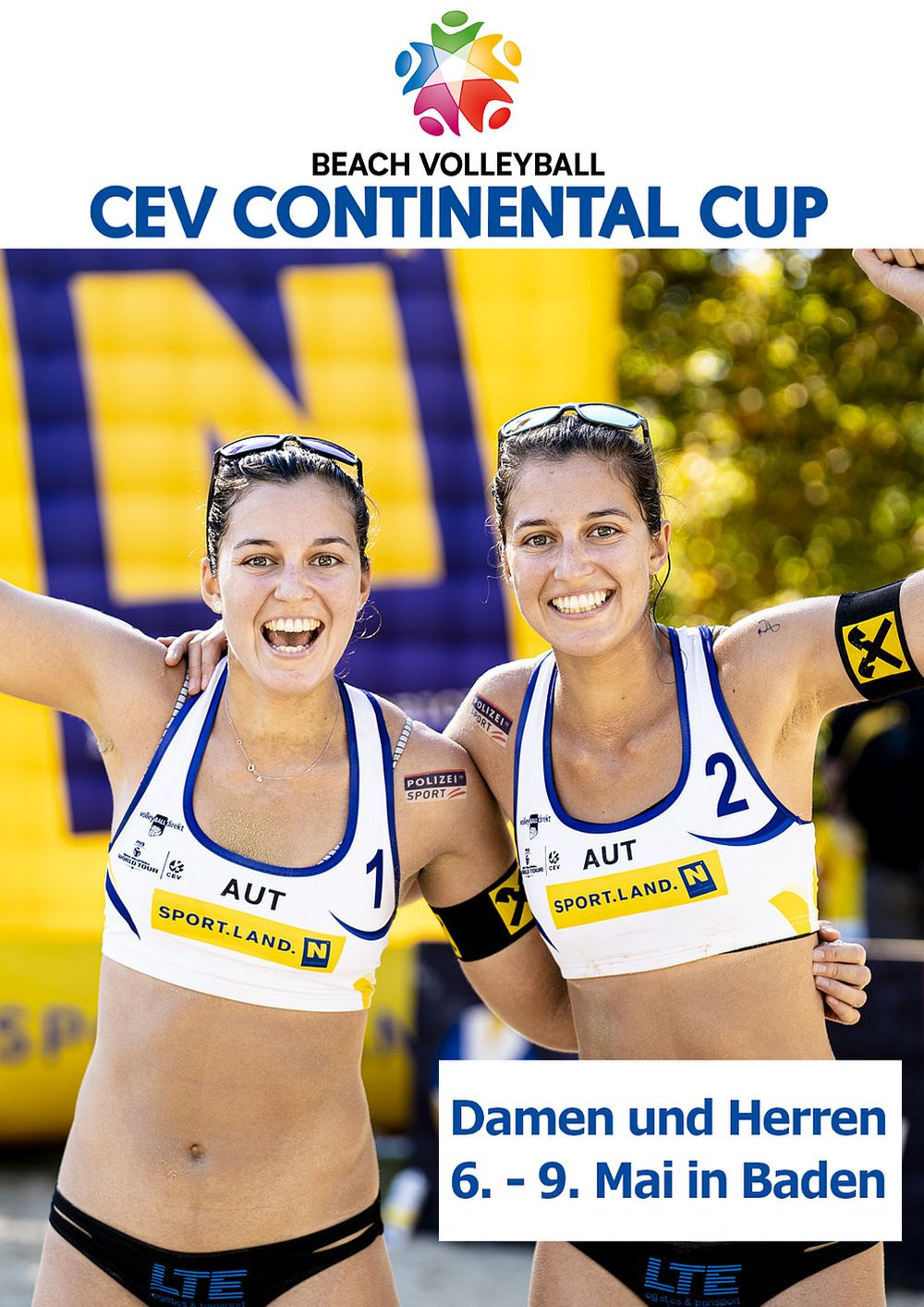 CEV Beach Volleyball Continental Cup, Baden 2021