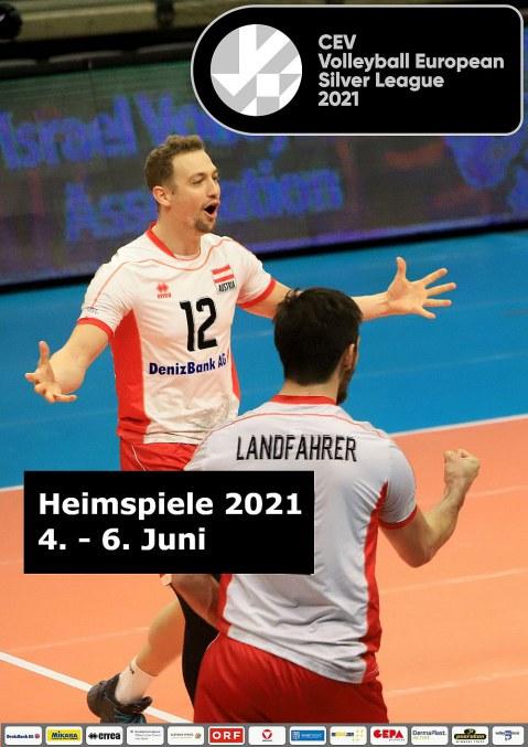 CEV Volleyball European Silver League 2021 Men