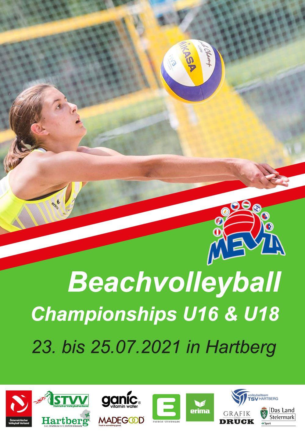 Event MEVZA Beach Volleyball Champions U16 & U18