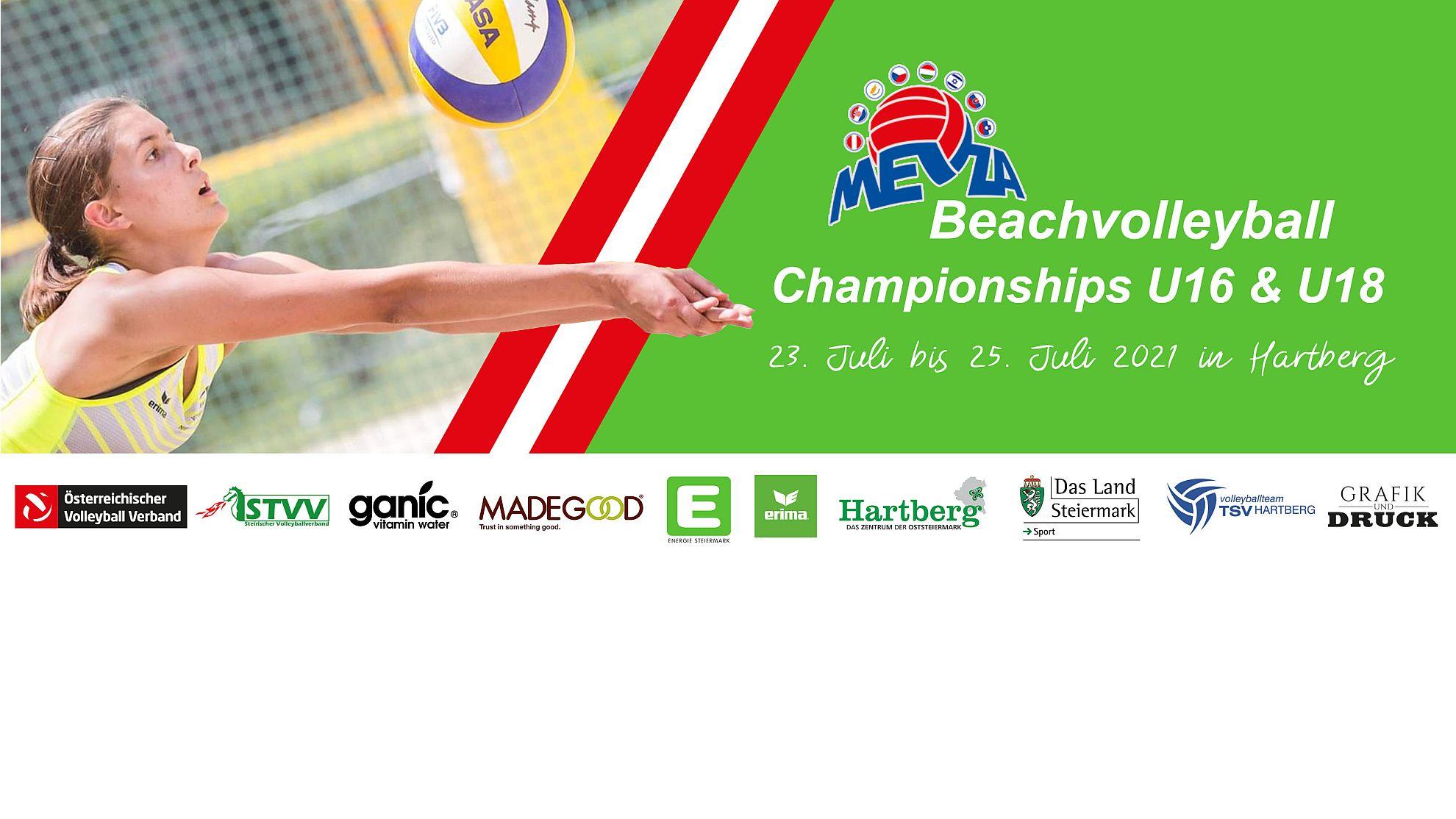 MEVZA Beach Volleyball Champions U16 & U18
