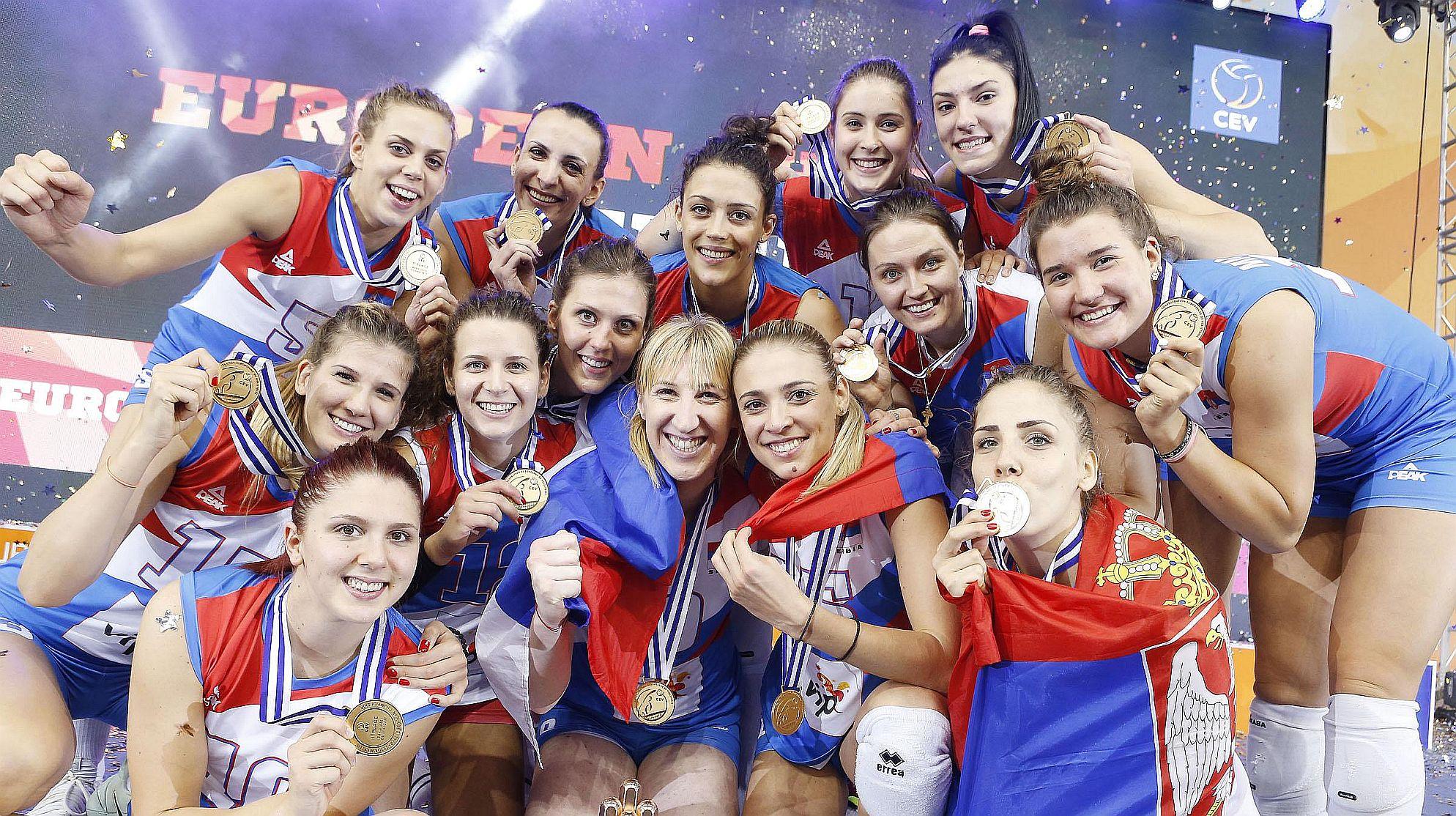 Europameister Serbien 2017 © CEV