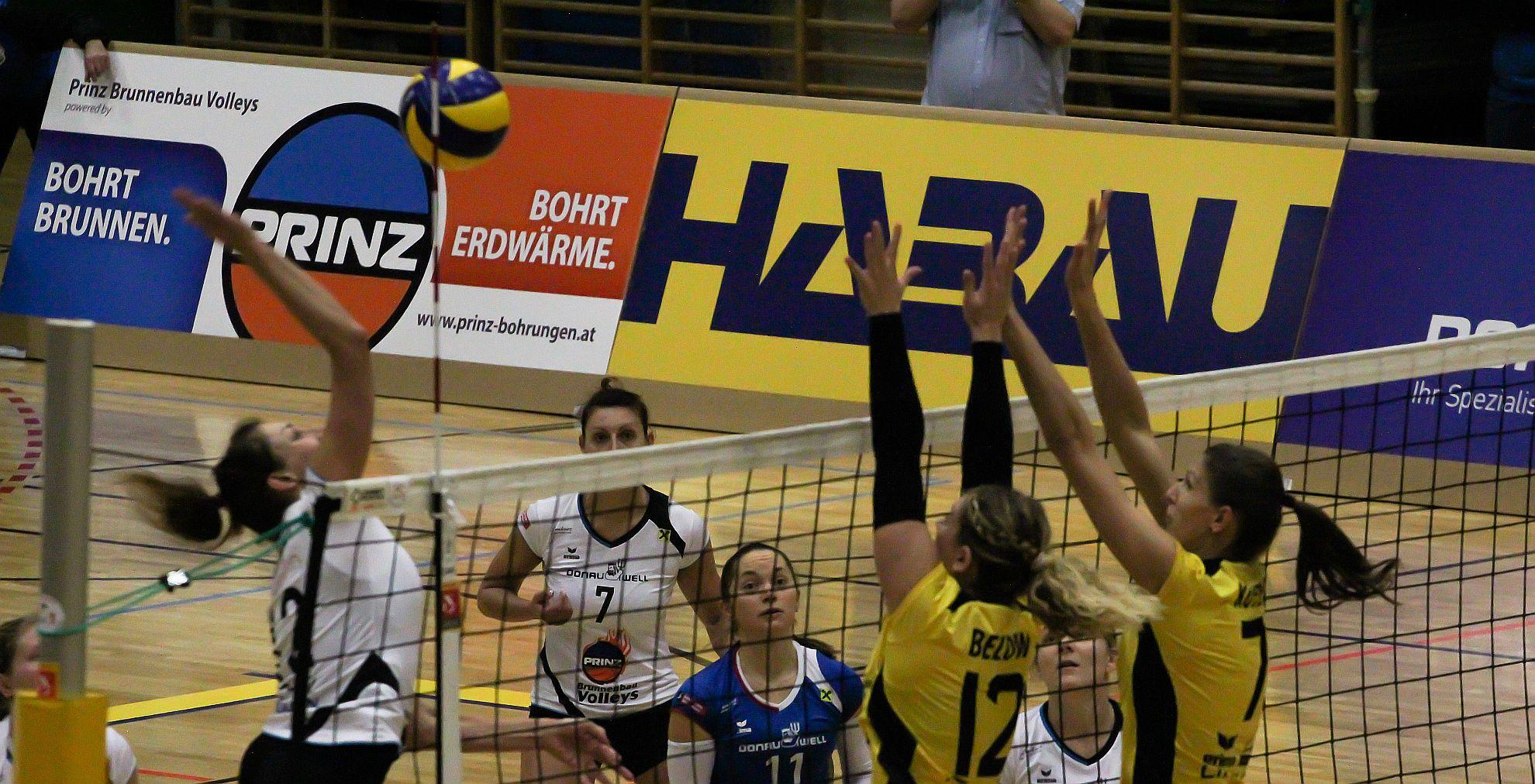 Austrian Volley League 17/18 - SG Prinz Brunnenbau Volleys gg. ASKÖ Linz/Steg © Peter Maurer