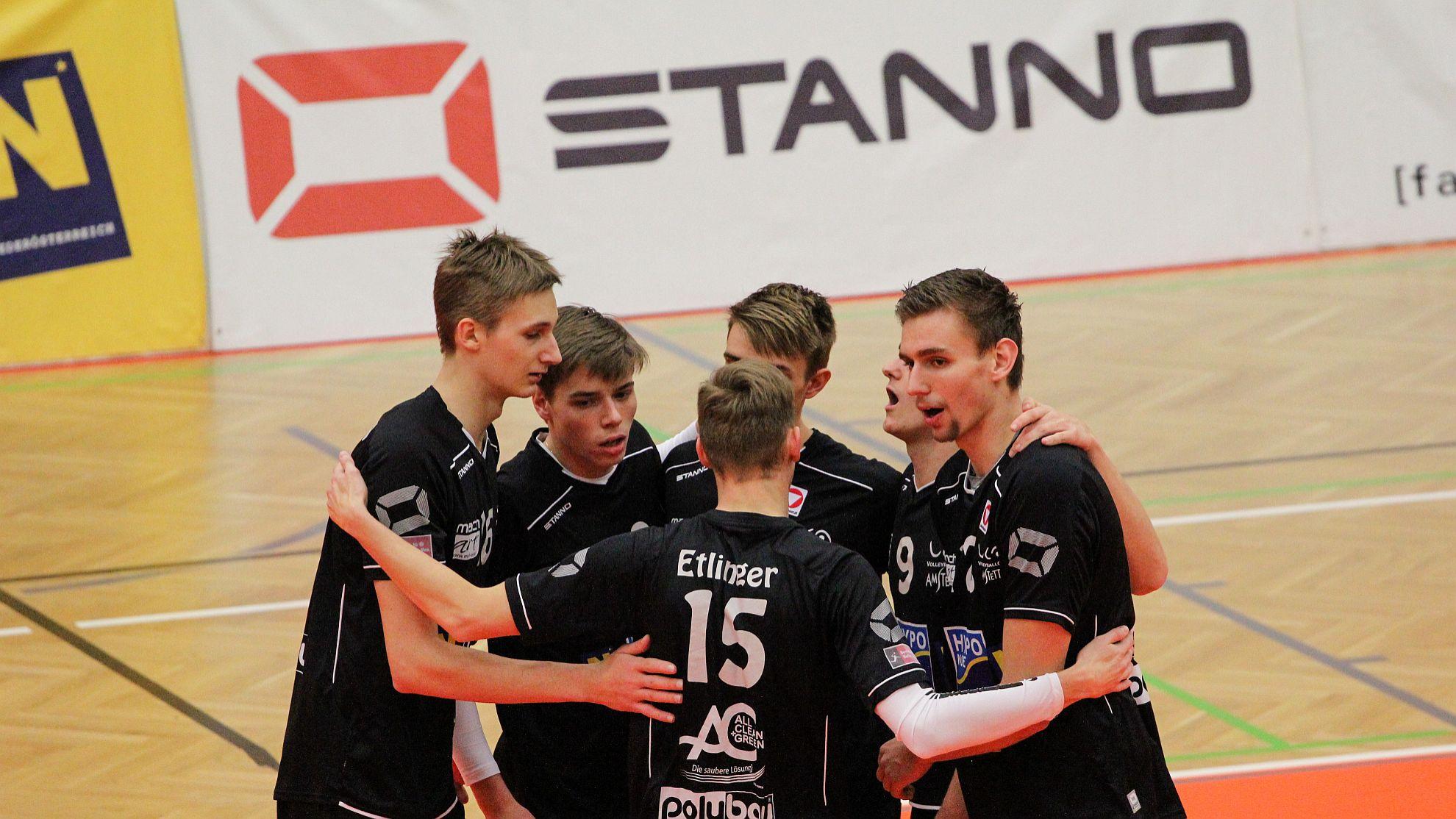 Austrian Volley Cup 17/18 - SG VCA Amstetten NÖ/hotVolleys gg. SK Posojilnica Aich/Dob - FOTO © Peter Maurer
