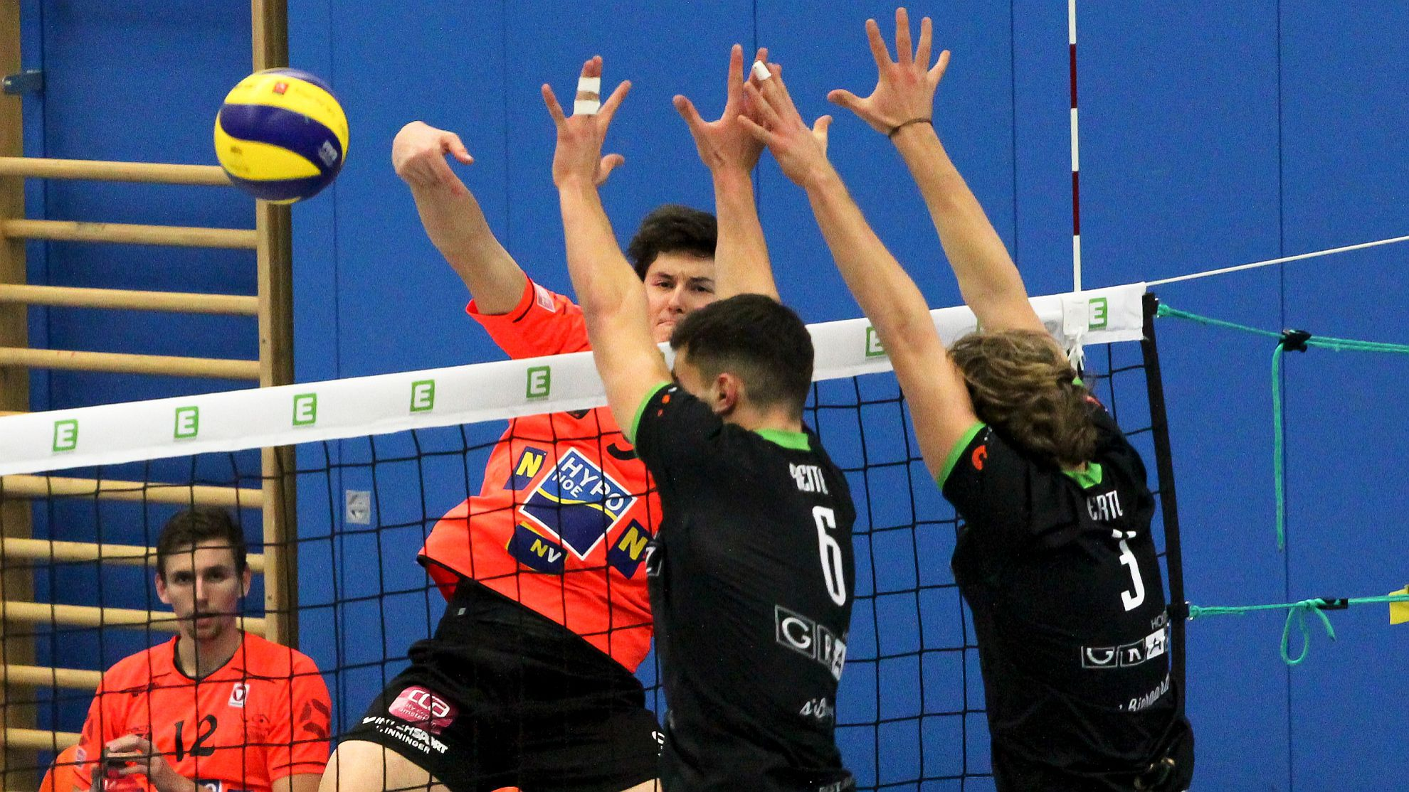 DenizBank AG Volley League Men 2017/18: UVC Holding Graz - SG VCA Amstetten NÖ/hotVolleys - FOTO © Peter Maurer