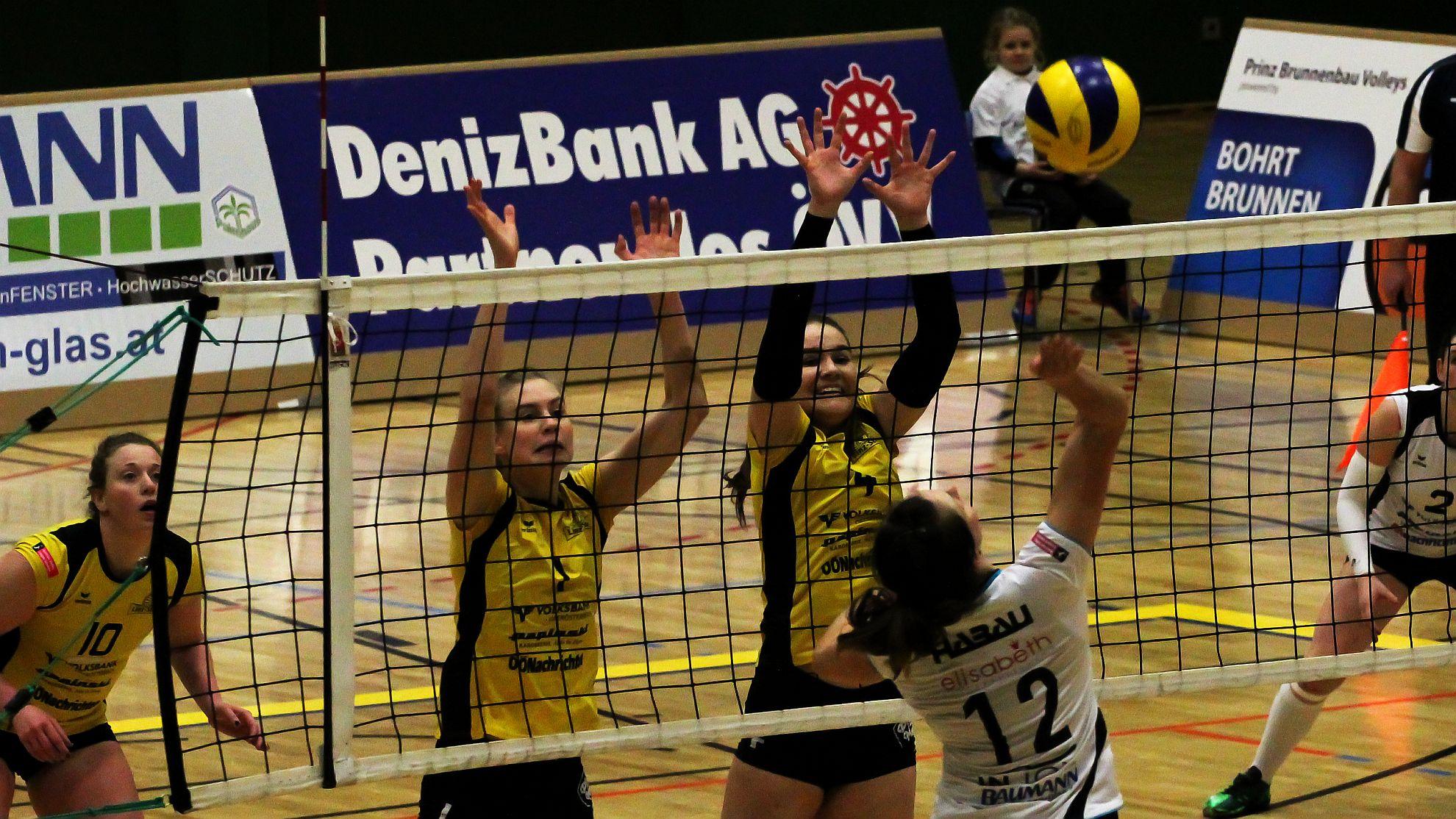 SG Prinz Brunnenbau Volleys gg. ASKÖ Linz/Steg 2018 - FOTO © Peter Maurer
