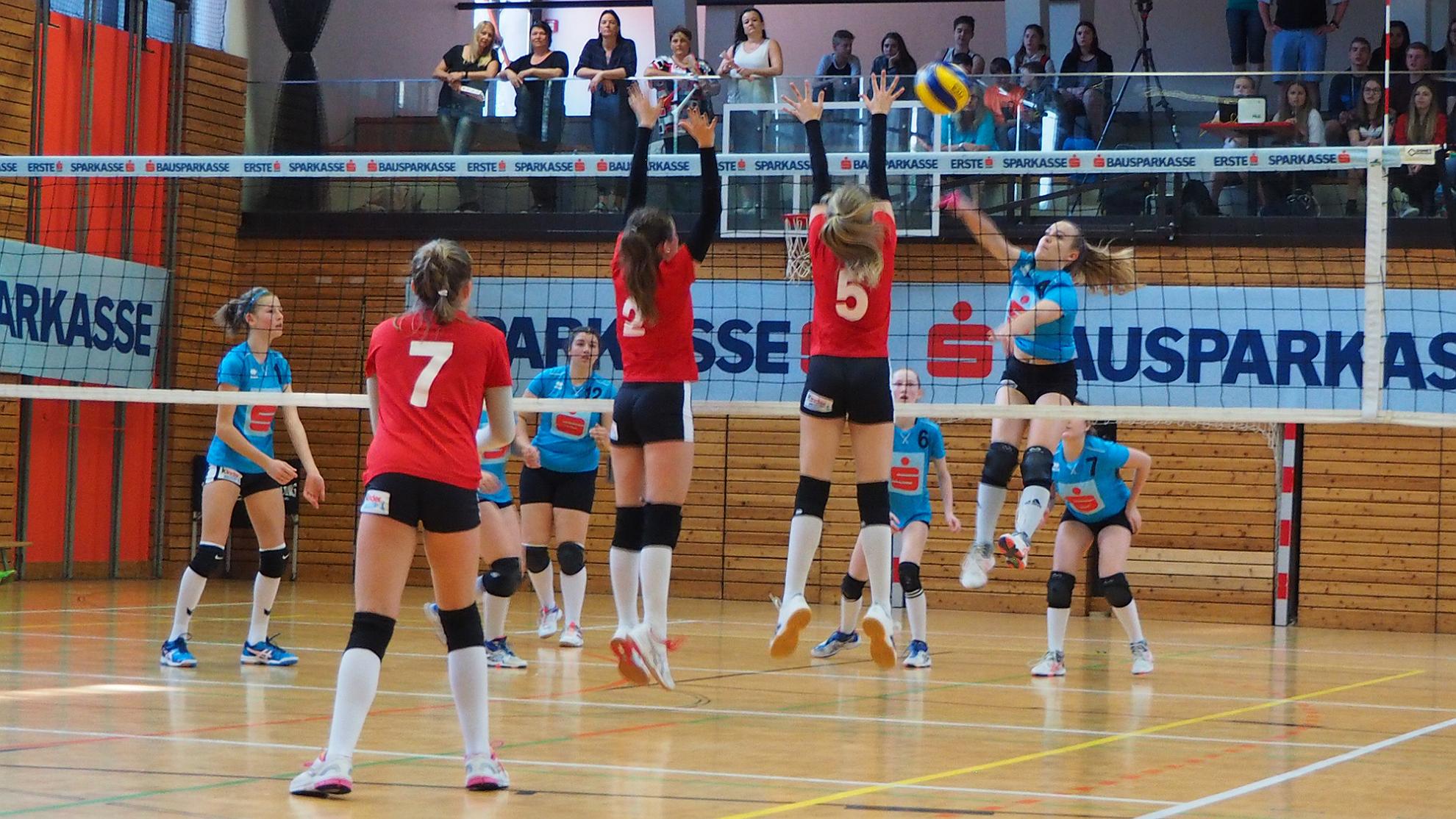 FOTO © Sparkasse-Schülerliga Volleyball 