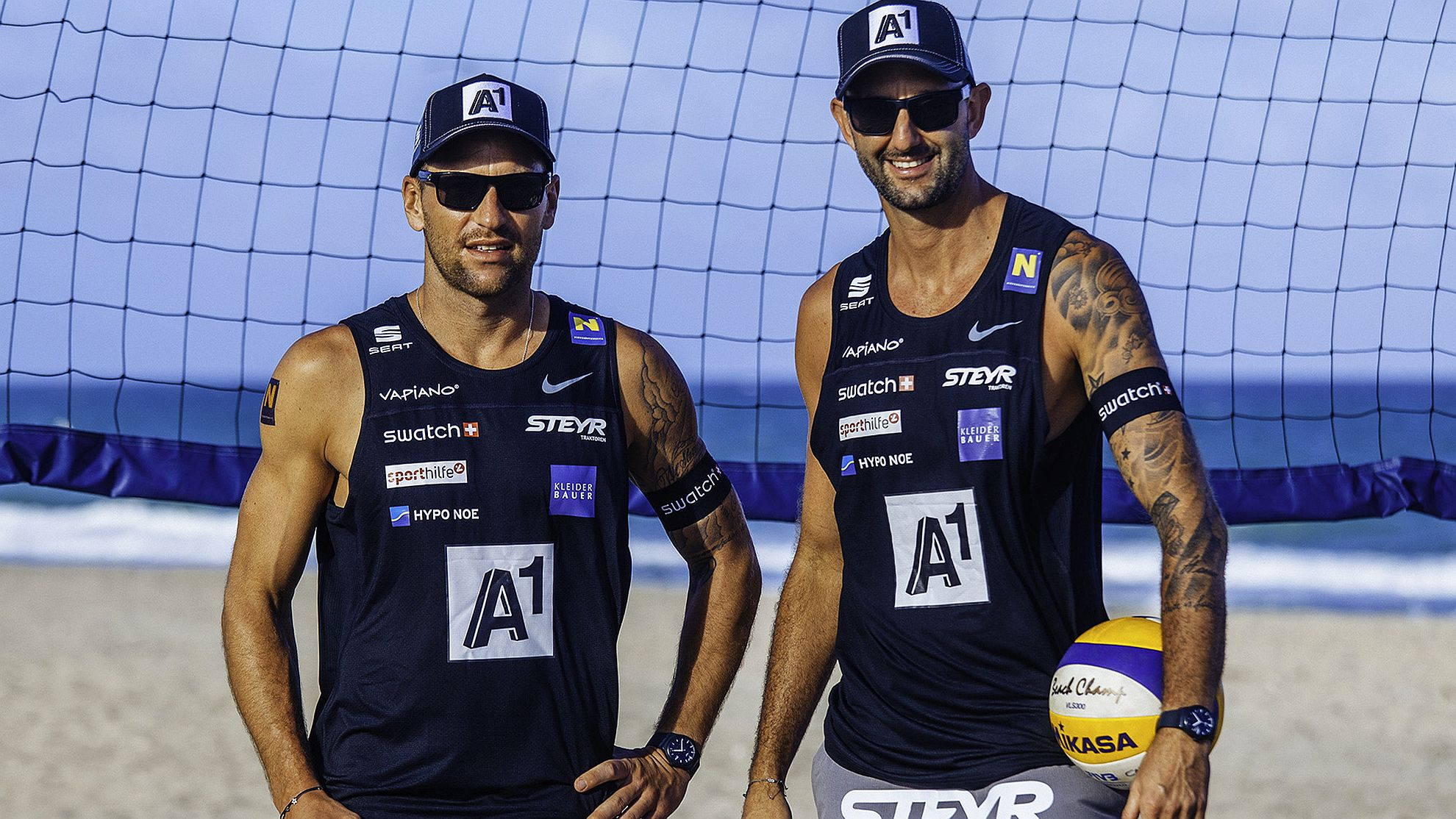 Clemens Doppler/Alex Horst 2018 - FOTO © BeachMajors