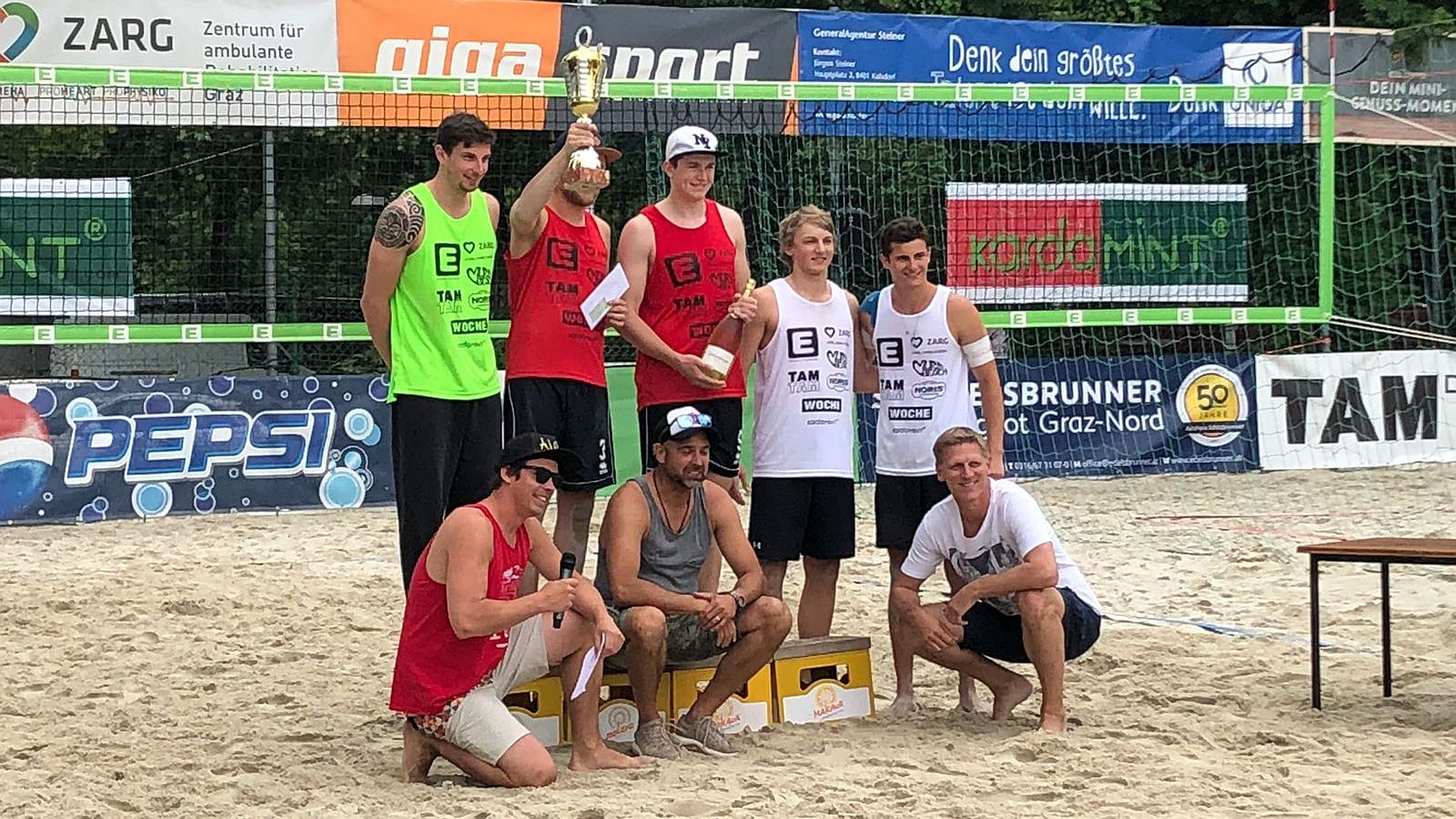 Energie Steiermark Beachvolleyball Summeropening 2018