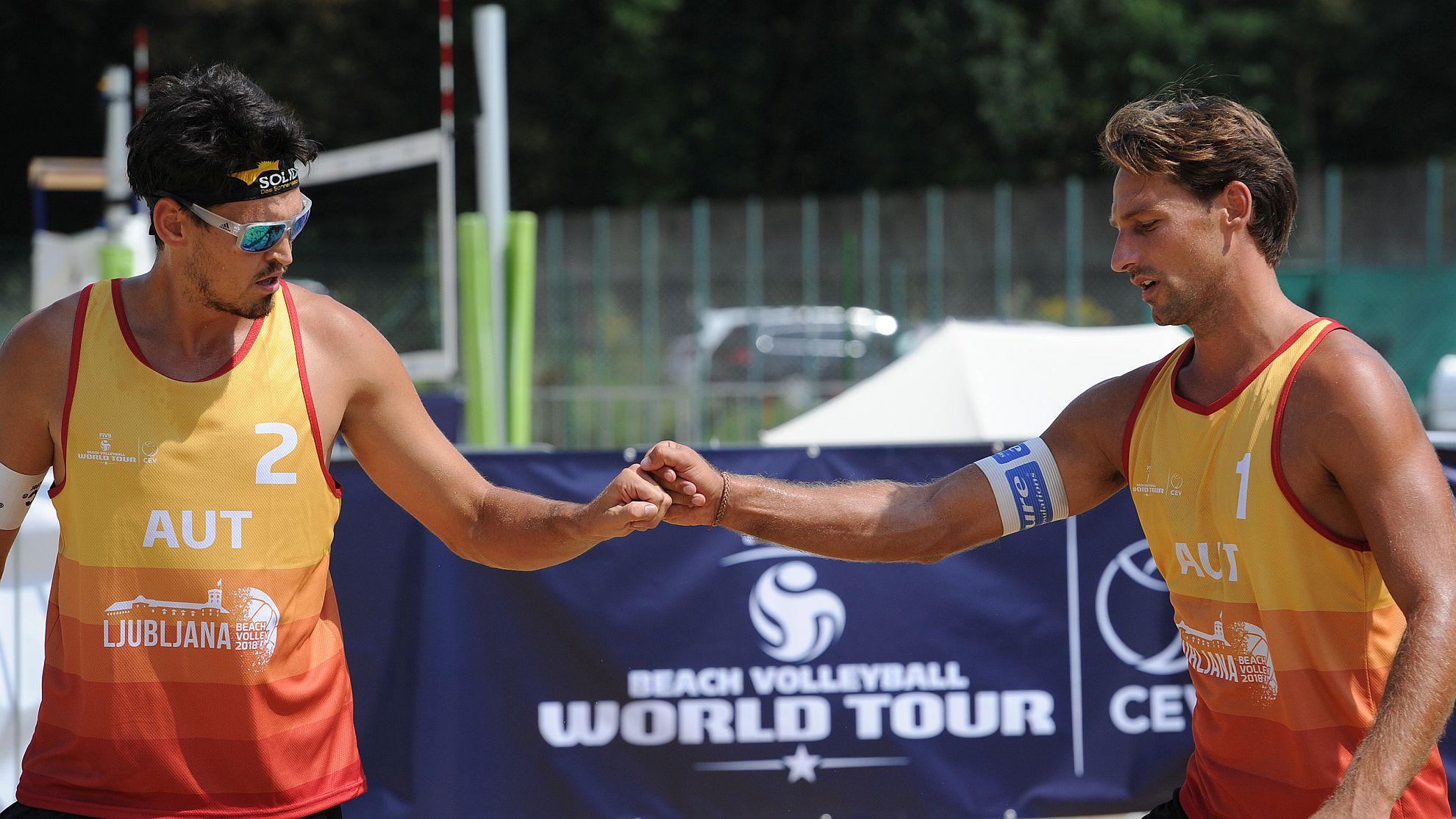 Thomas Kunert und Peter Eglseer 2018 - FOTO © FIVB