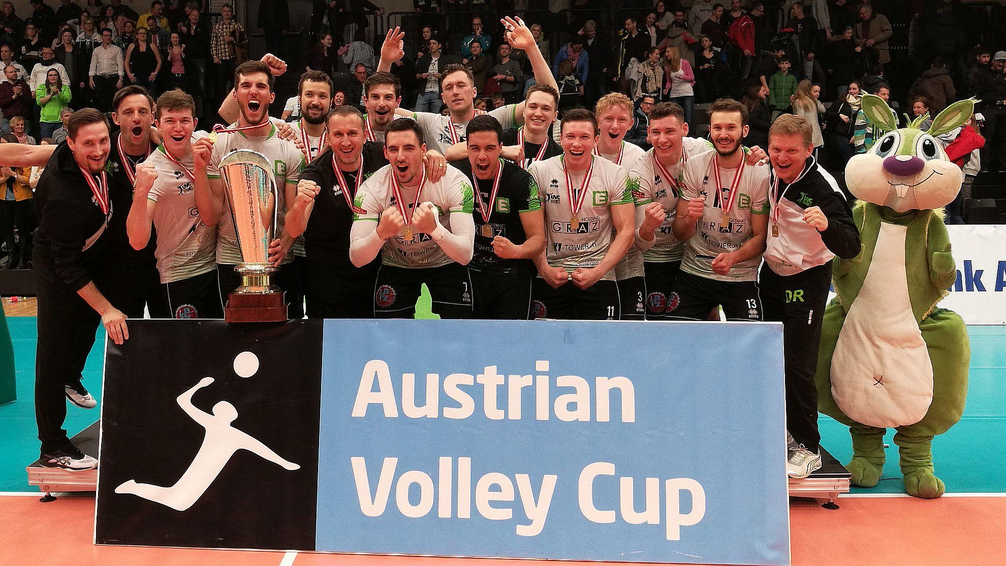 Cupsieger 2019 UVC Holding Graz