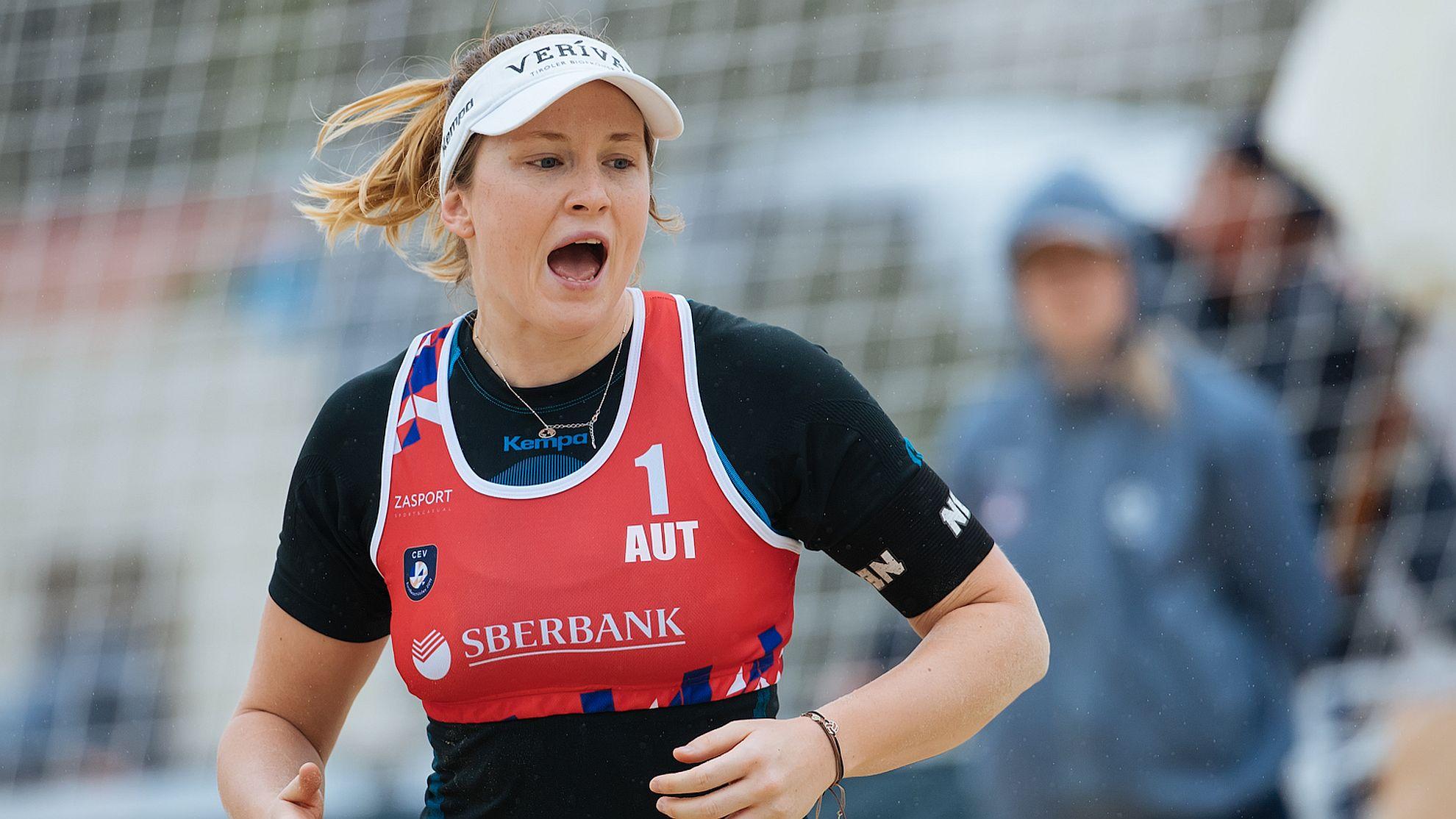 Katharina Schützenhöfer/Lena Plesiutschnig - FOTO © CEV