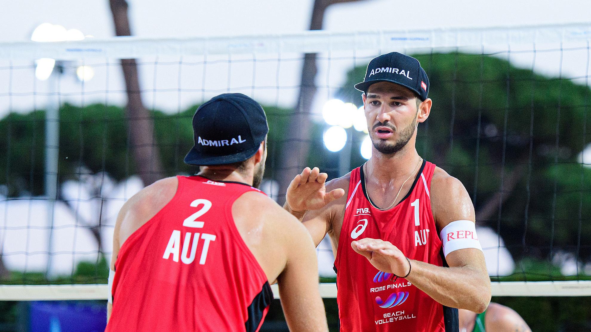 Moritz Pristauz/Martin Ermacora - FOTO © FIVB