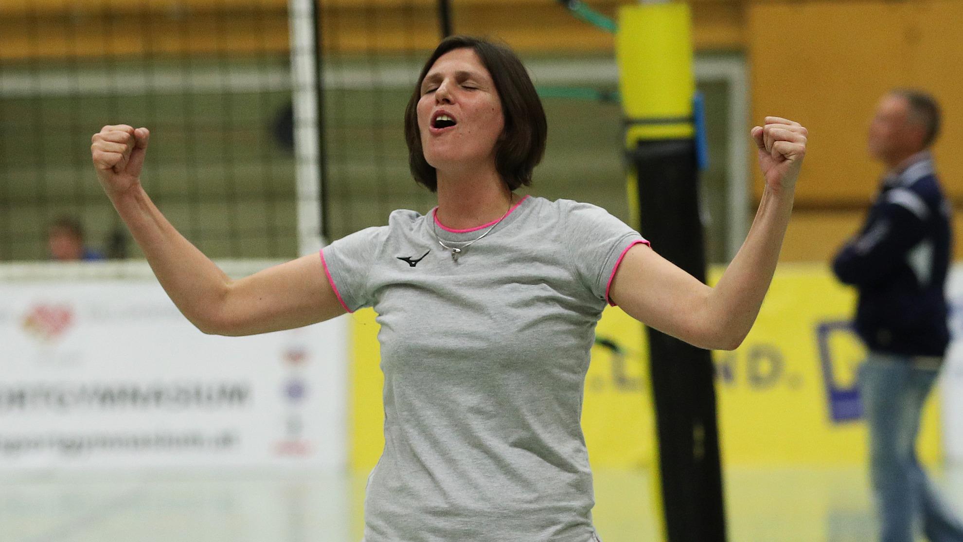 SG VB NÖ Sokol Post-Trainerin Zuzana Pecha-Tlstovicova 2019 - Foto © GEPA pictures/Christian Ort